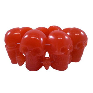 Red Skull elasticated Bracelet