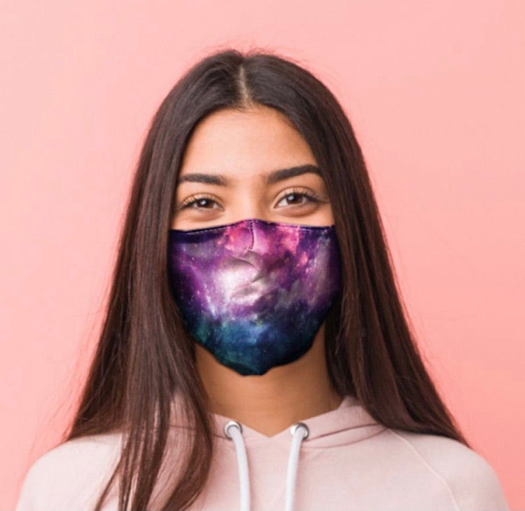 Galaxy reusable Mask Face Covering