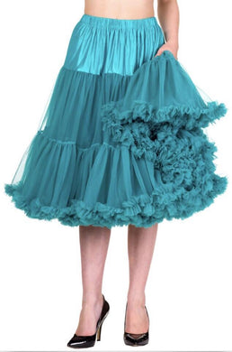 Full Dancing Petticoat Emerald/Teal