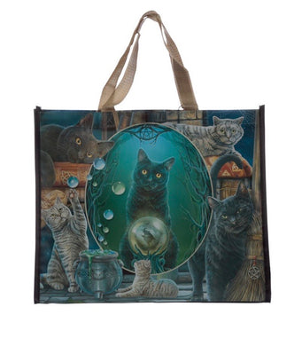 Lisa Parker Magic Montage Cat shopping Bag