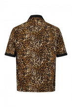 Load image into Gallery viewer, Keith 1950's Leopard Print Bowling Shirt