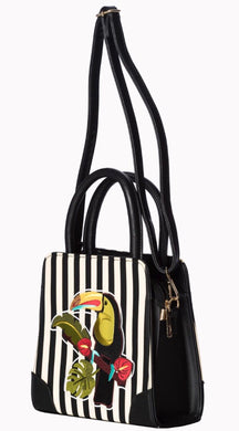 Toucan Tropical Stripe Bag