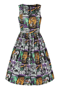 Be Afraid Horror B-movie Dress