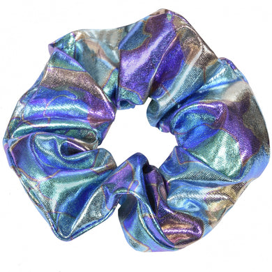 Supernova metallic Scrunchie