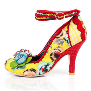Irregular Choice Day Dreamer Yellow SALE WAS £99 NOW £49