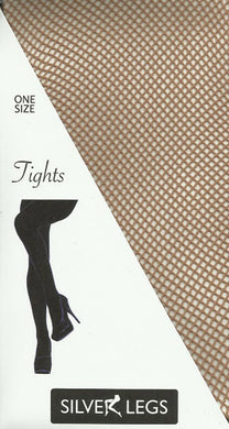 Plain Fishnet Tights (Nude)
