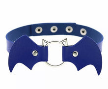 Load image into Gallery viewer, Bat Choker (various colours available)