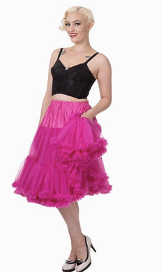 Full Dancing Petticoat Hot Pink