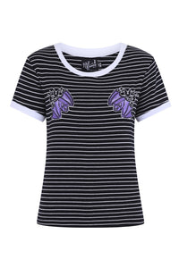 Vampirina Embroidered Bat Top