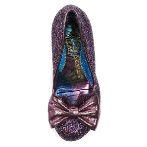Irregular Choice Purple Nick of Time SALE WAS £89 NOW £69