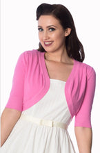 Load image into Gallery viewer, Hudson Short Sleeve Bolero Candy Pink
