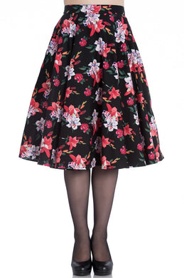 Lily Floral Full Circle Skirt SALE WAS £32 NOW £19