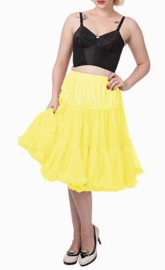 Full Dancing Petticoat Yellow