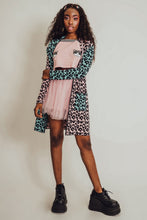 Load image into Gallery viewer, Pastel Leopard Print Long Cardigan