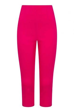 Tina Rockabilly Capri Trousers Hot Pink
