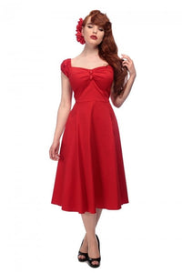 Dolores Doll Classic Plain Swing Dress