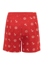 Load image into Gallery viewer, Sue High Waisted Nautical Shorts SALE WAS £25 NOW £10