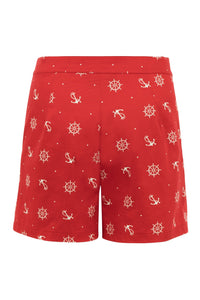 Sue High Waisted Nautical Shorts SALE WAS £25 NOW £10