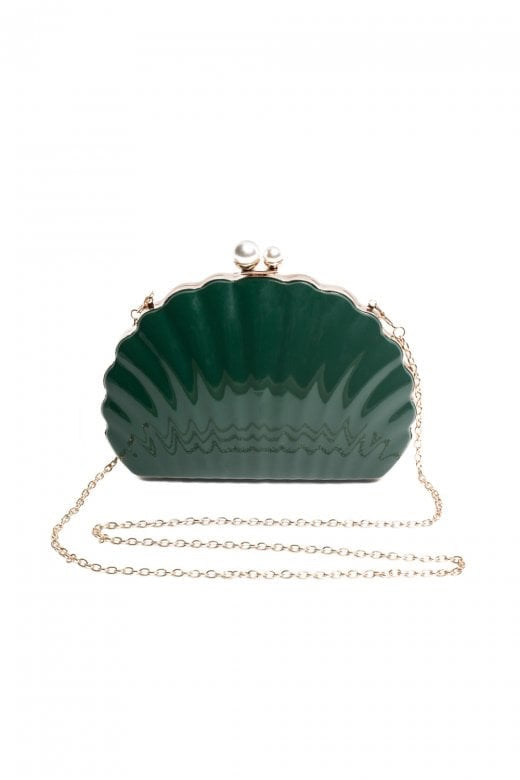 Collectif Emerald Green Shell Bag