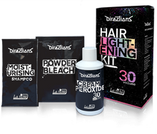 Load image into Gallery viewer, Directions Hair Dye Lightening Bleach Kit 30 Volume