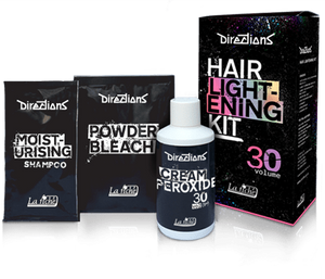 Directions Hair Dye Lightening Bleach Kit 30 Volume