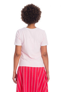 Retro Pin-up Pink Merry Cherry T-shirt
