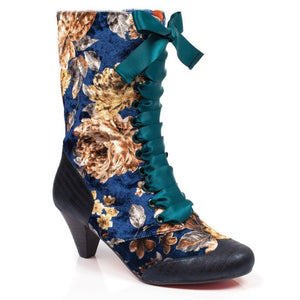 Poetic Licence Lady Victoria Navy Boots SALE WAS £105 NOW £85
