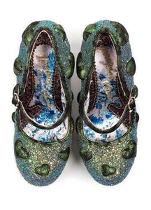 Irregular Choice Forbury Gardens Green SALE WAS £199 NOW £89