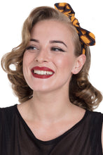 Load image into Gallery viewer, Mustard Retro Geometric pattern Elasticated headband