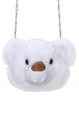 Cuddle Syndrome Teddy Bear Head bag