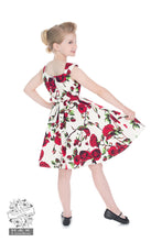Load image into Gallery viewer, Children's Cream Rose Dress