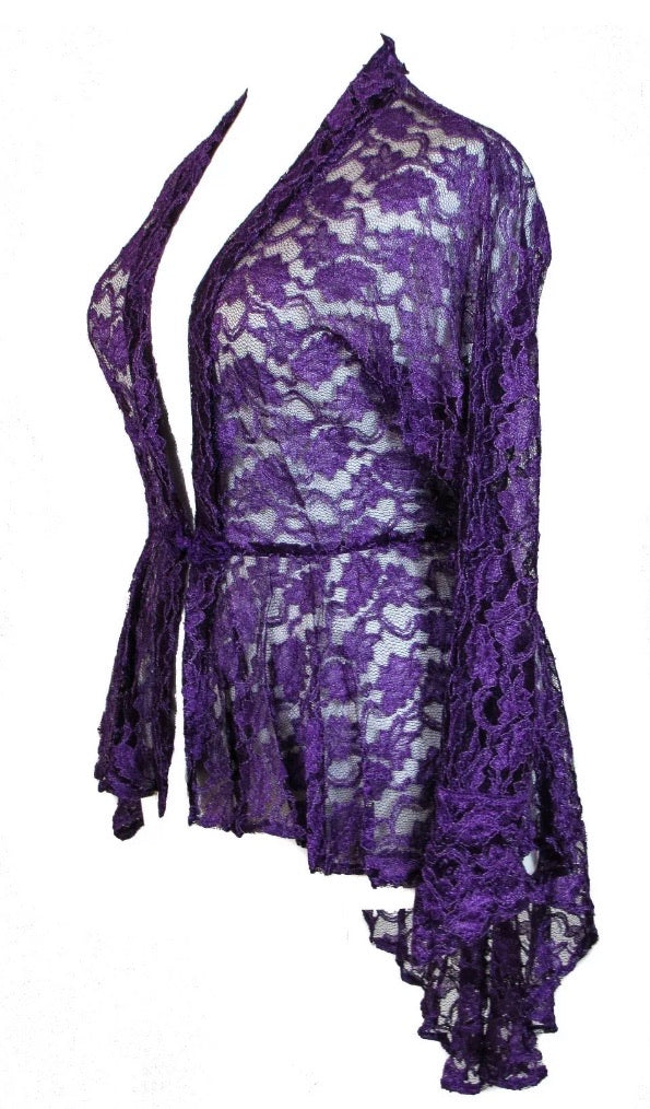 Purple Lace Jacket