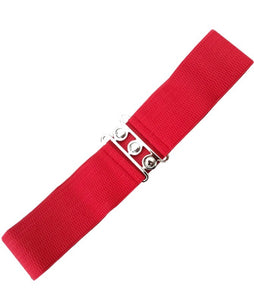 Retro Elasticated Waspie waist Belt