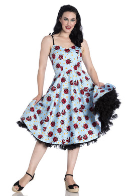 Lila Lady Bird Swing Dress SALE WAS £49 NOW £25