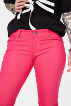 Load image into Gallery viewer, Hot Pink Skinny Jeans