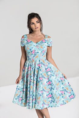 Yoko 50's Floral Princess Dress