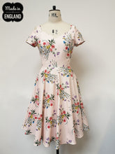 Load image into Gallery viewer, Summer Breeze Floral Occassion Dress Made in the Uk
