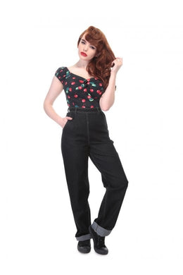Siobhan High Waisted Wide Leg Jeans
