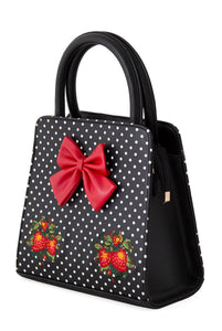 Fragola Embroidered Strawberry Bag