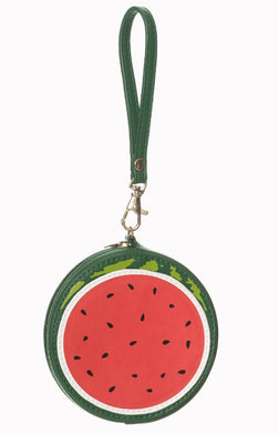 Watermelon Purse with wrist strap