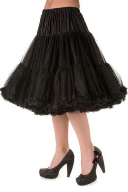 Full Dancing Petticoat Black