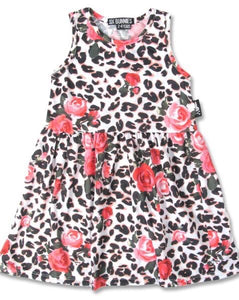 Leopard and Roses Dress SALE WAS £20.50 NOW £15