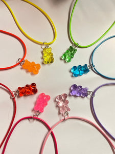 Gummy bear Candy Necklace