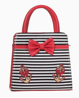 Vice Striped Anchor Bag