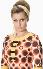 Load image into Gallery viewer, Retro Circle 60's Mini Dress