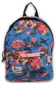 Children's Canvas Backpack Fairytale Birds and Bambis Print