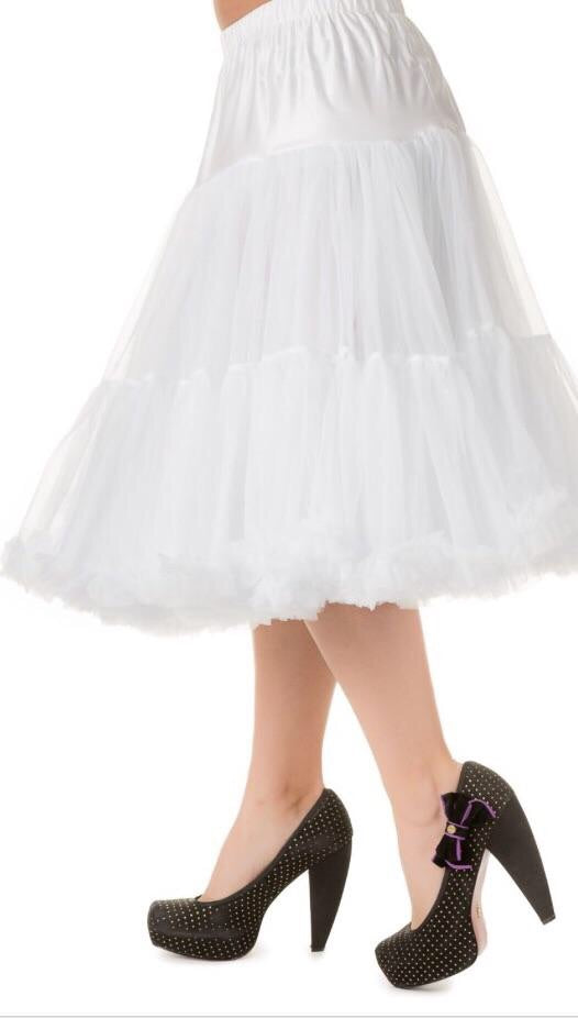 Full Dancing Petticoat White