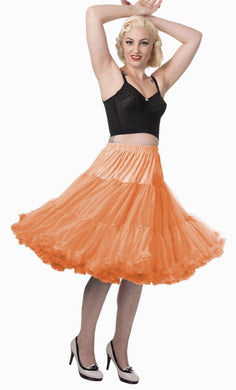 Full Dancing Petticoat Orange