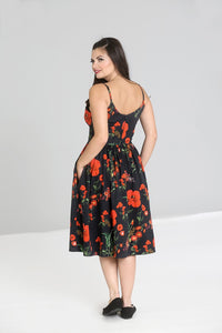 Poppy Swing Dress Made in the Uk