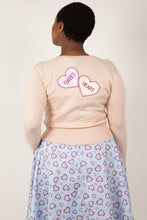 Load image into Gallery viewer, Kim Love Heart Print Cardigan